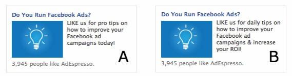 pruebe sus anuncios de Facebook para un mayor rendimiento